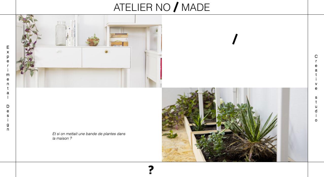 Latest Website For The French Design Studio Atelier Nomade